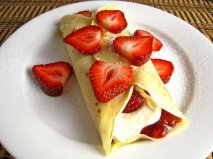 Strawberry Cheesecake Crepe 500
